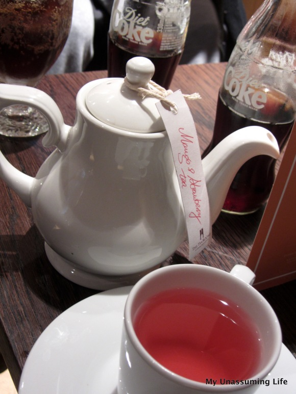 Tea in the Edinburgh Castle